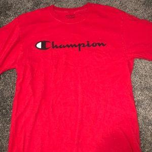 Red Champion T-shirt